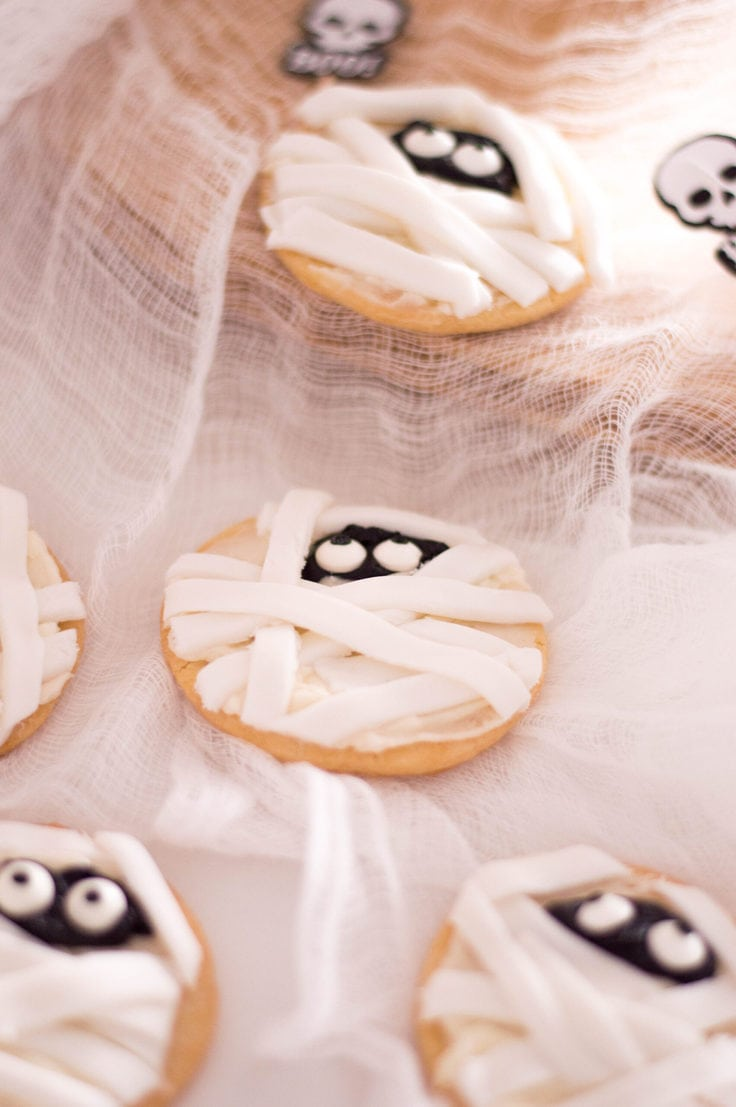 Mummy Sugar Cookies.