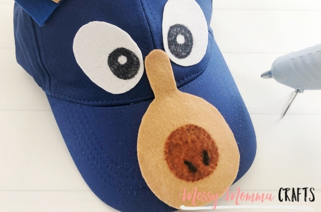 You'll want to make and wear this Wonder Park Boomer hat to see the new Wonder Park Movie.