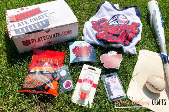 Plate Crate is a Monthly Subscription Box for Baseball Lovers. Each box is filled with amazing gear each month.
