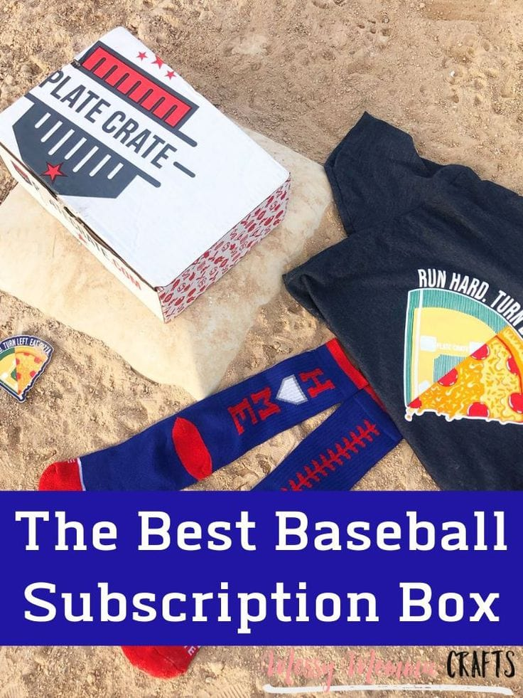 If your looking for the best monthly subscription box for baseball fans, Plate Crate is for you.