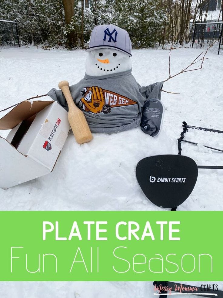 Are you looking for ideas for your baseball players? Plate Crate for Christmas is the way to go! A monthly subscription box filled with baseball gear.