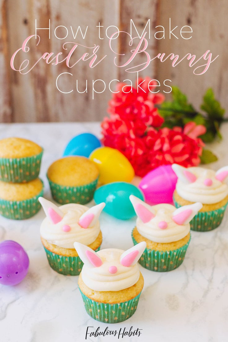 These Easter Bunny Cupcakes will make you go