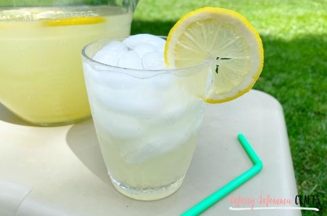 I never realized how easy it is to make Homemade Lemonade until I made it this summer. 3 ingredients and you've got yourself summer in a glass!