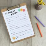 Mother's Day free printable on a wood backdrop.