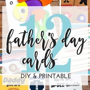 Collage of Father's Day cards from Trish Sutton.