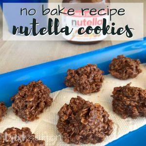 No-bake recipe Nutella cookies from Trish Sutton.