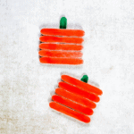 pumpkin craft with popsicle sticks